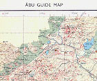 Guide Map of Abu